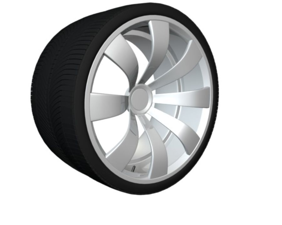 concept rim collection royalty-free 3d model - Preview no. 5