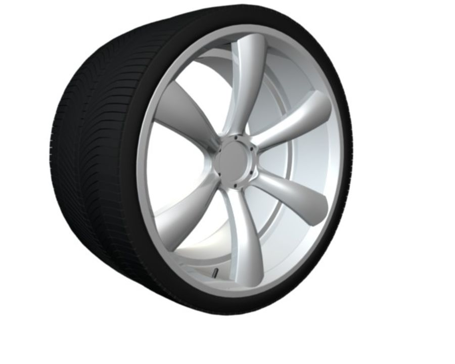 concept rim collection royalty-free 3d model - Preview no. 2