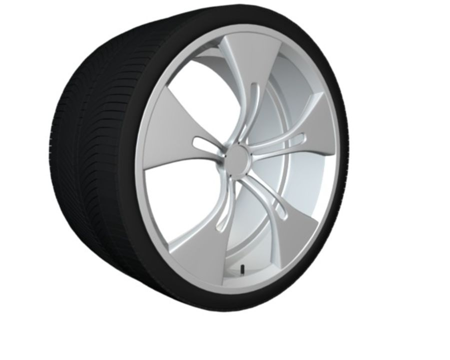 concept rim collection royalty-free 3d model - Preview no. 6