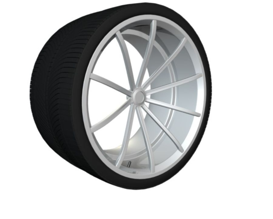 concept rim collection royalty-free 3d model - Preview no. 4