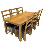 atlanta dining set 3d model