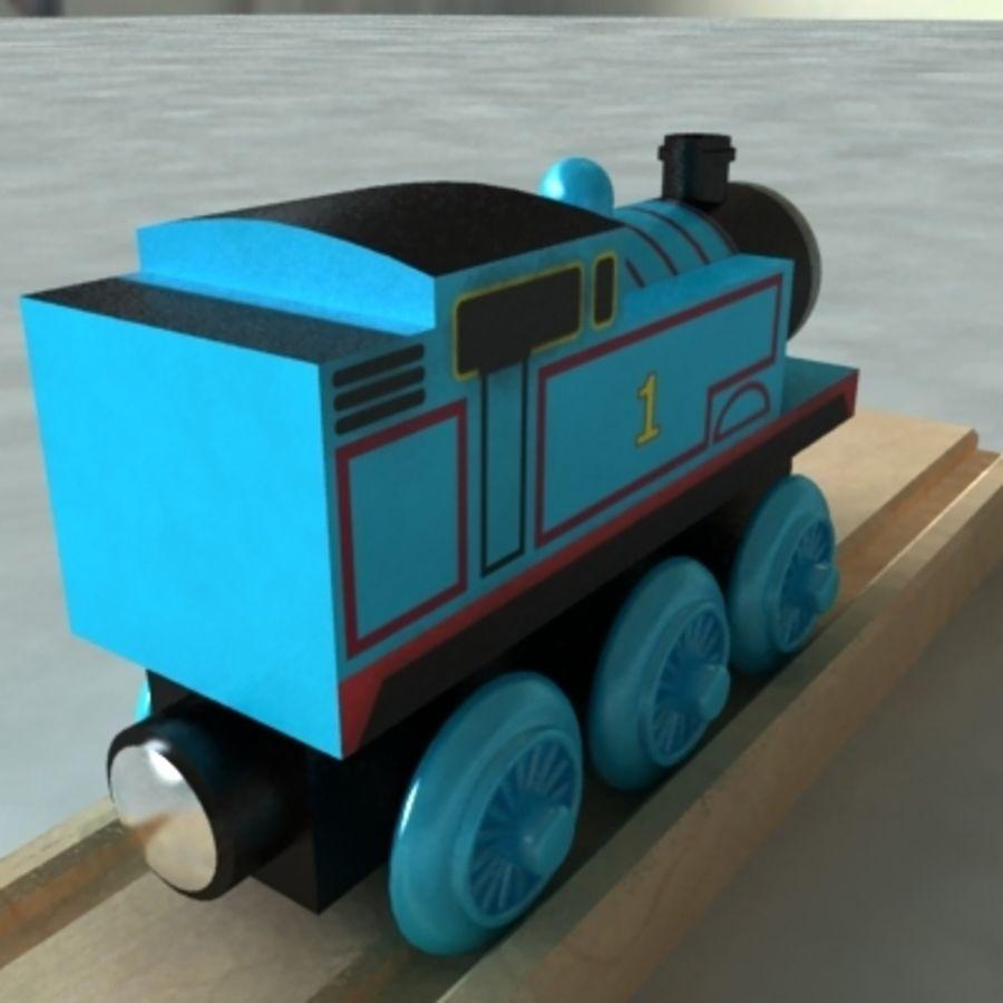 Thomas Die Lokomotive Aus Holz Eisenbahn Spielzeugeisenbahn 3d