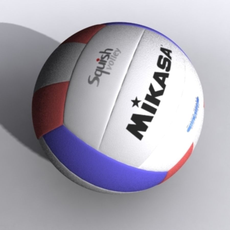 volleyball - textured royalty-free 3d model - Preview no. 1