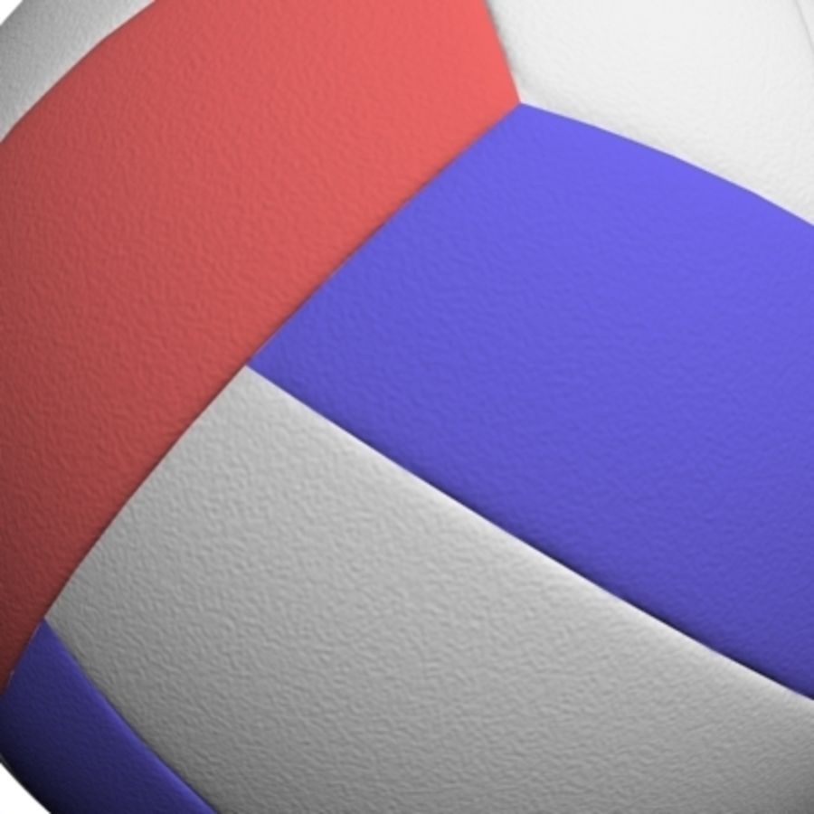 volleyball - textured royalty-free 3d model - Preview no. 7