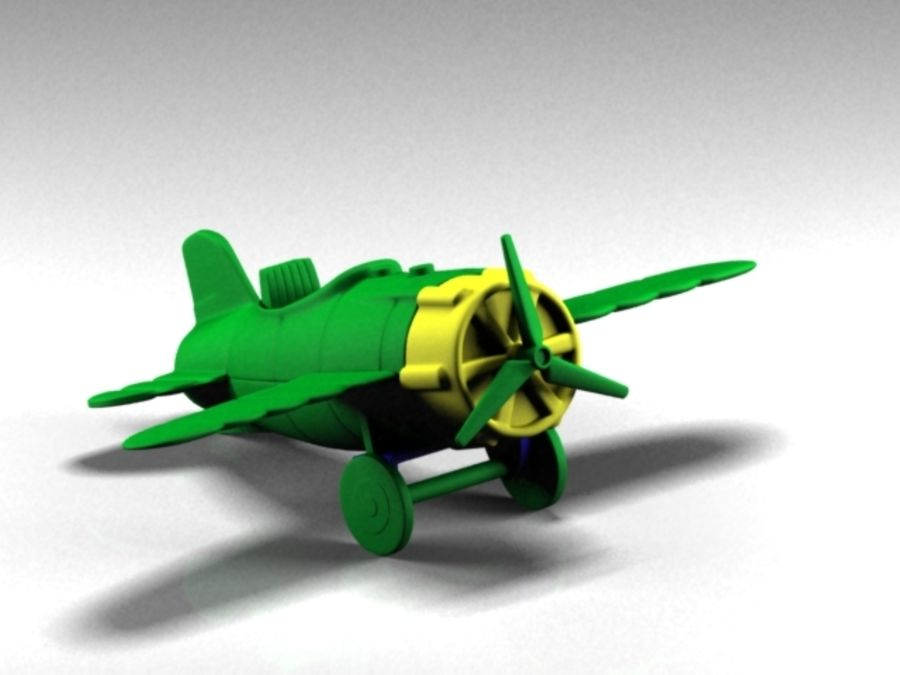 aircraft royalty-free 3d model - Preview no. 1