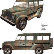 caminhonete c4d 3d model