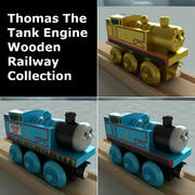 Thomas The Tank Engine Wooden Railway Toy Collection 3d model