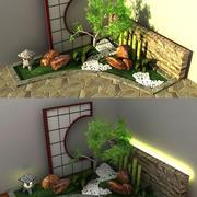 Japanese Garden 3d model