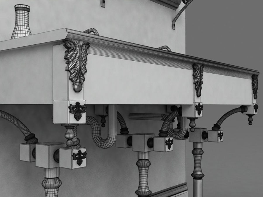 Sink royalty-free 3d model - Preview no. 9