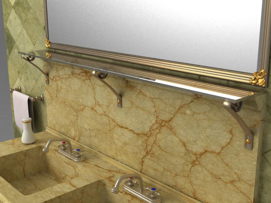 Sink royalty-free 3d model - Preview no. 6