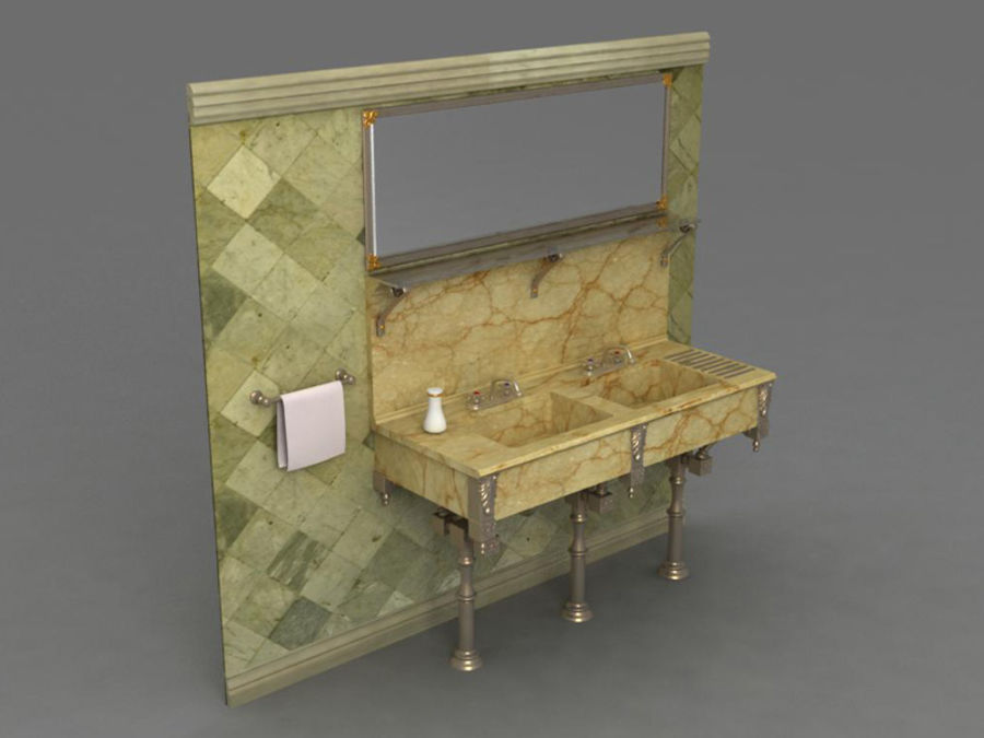 Sink royalty-free 3d model - Preview no. 1