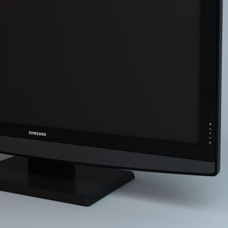 samsung LCD TV LE26B350 royalty-free 3d model - Preview no. 3
