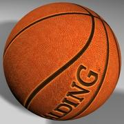 Basketball ball mapped High quality 3d model