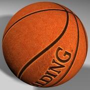 Balón de baloncesto mapeado de alta calidad. modelo 3d