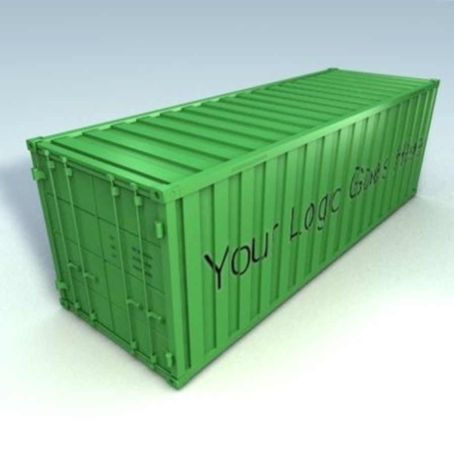 container royalty-free 3d model - Preview no. 1
