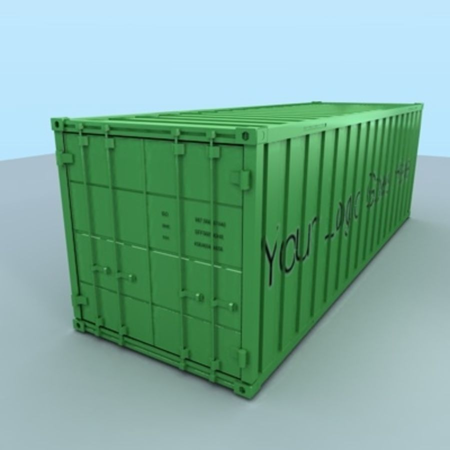 container royalty-free 3d model - Preview no. 2