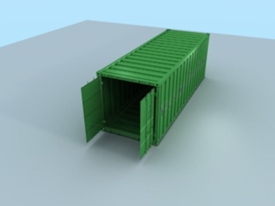 container royalty-free 3d model - Preview no. 5