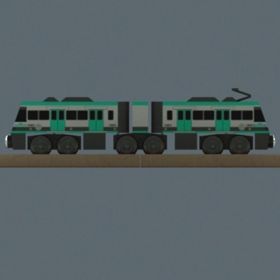 Metrolink Wooden Railway Toy Train 3d Model 5 Unknown Obj 3ds