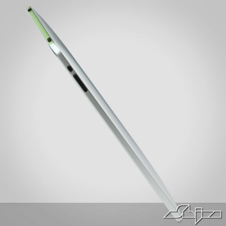 Apple IPad Tablet Computer royalty-free 3d model - Preview no. 3