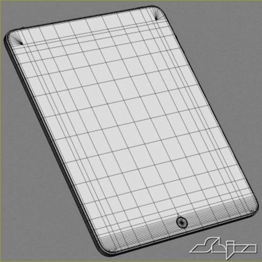 Apple IPad Tablet Computer royalty-free 3d model - Preview no. 5
