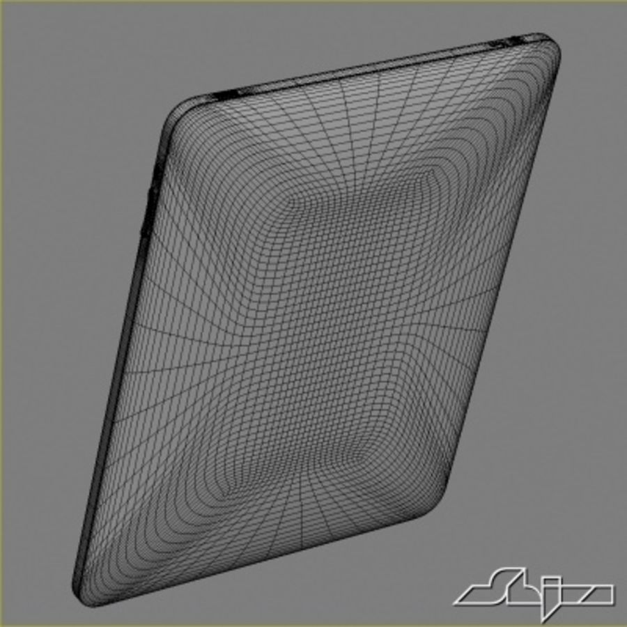 Apple IPad Tablet Computer royalty-free 3d model - Preview no. 6