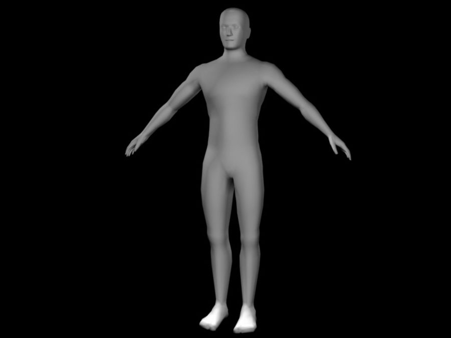 corpo maschile 2 royalty-free 3d model - Preview no. 1