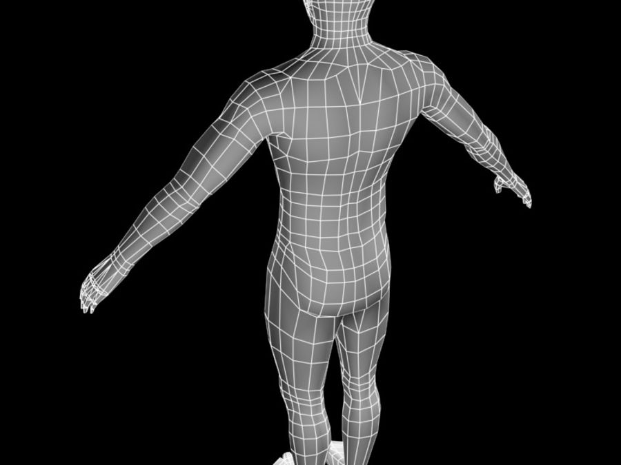 corpo maschile 2 royalty-free 3d model - Preview no. 5