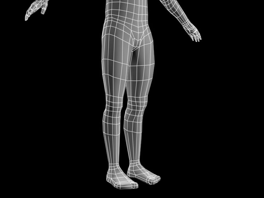 corpo maschile 2 royalty-free 3d model - Preview no. 7