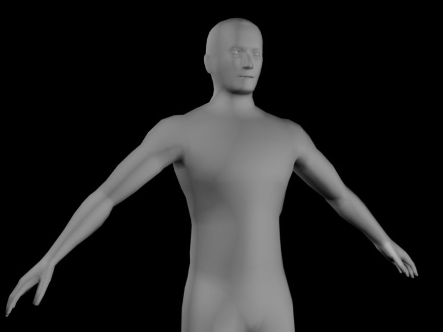 corpo maschile 2 royalty-free 3d model - Preview no. 2
