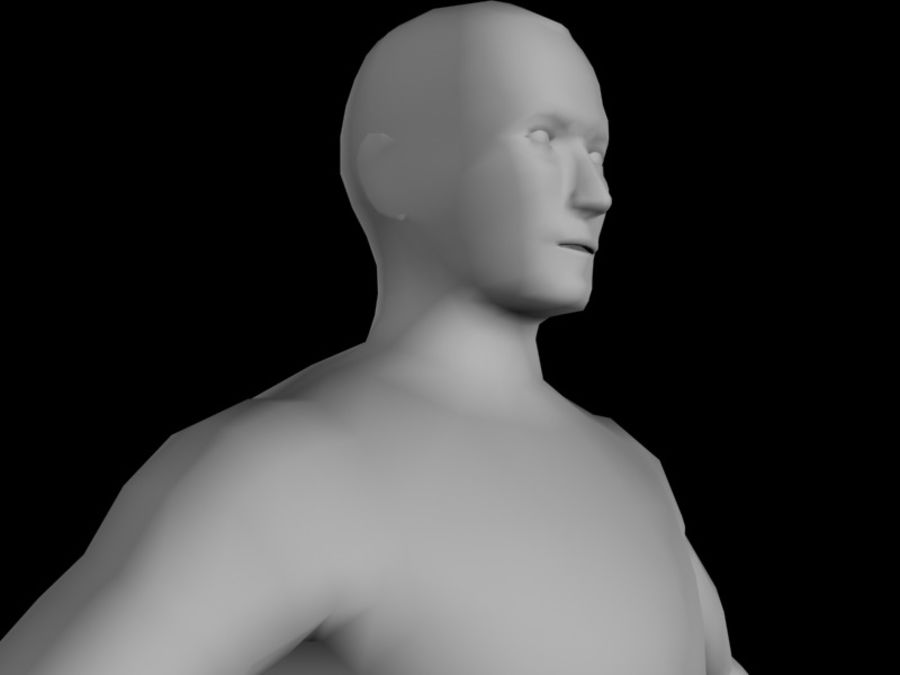 corpo maschile 2 royalty-free 3d model - Preview no. 8