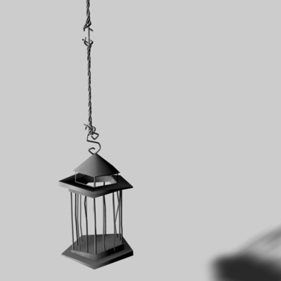 Bird Cages royalty-free 3d model - Preview no. 7