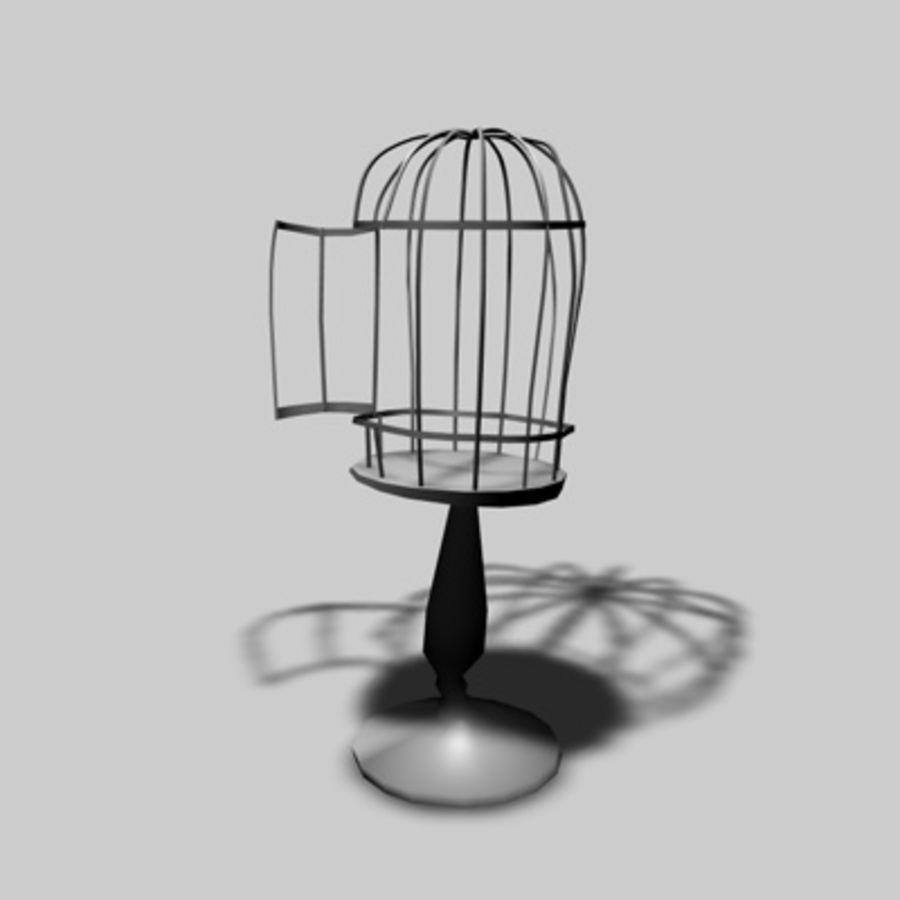 Клетки для птиц royalty-free 3d model - Preview no. 4