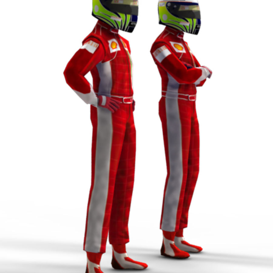 Red Driver - Racing pilote 3D Model $10 -  unknown  obj  max
