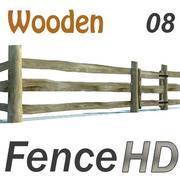 Agricultural fence 3d model
