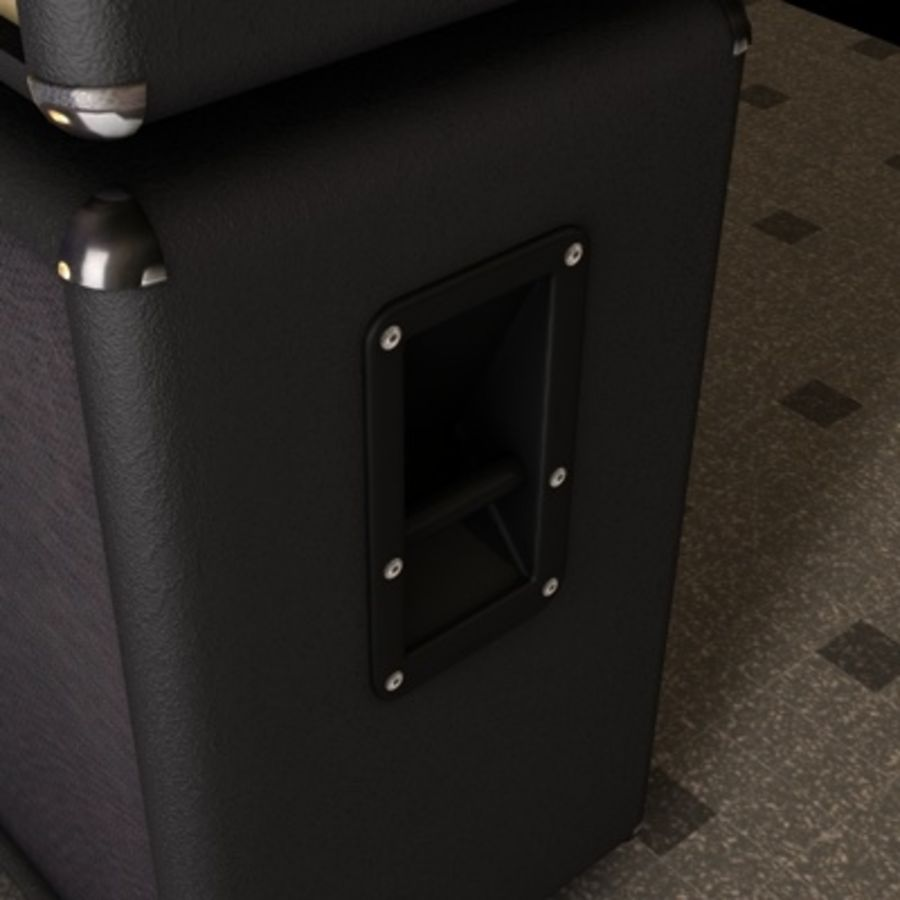 speaker royalty-free 3d model - Preview no. 3