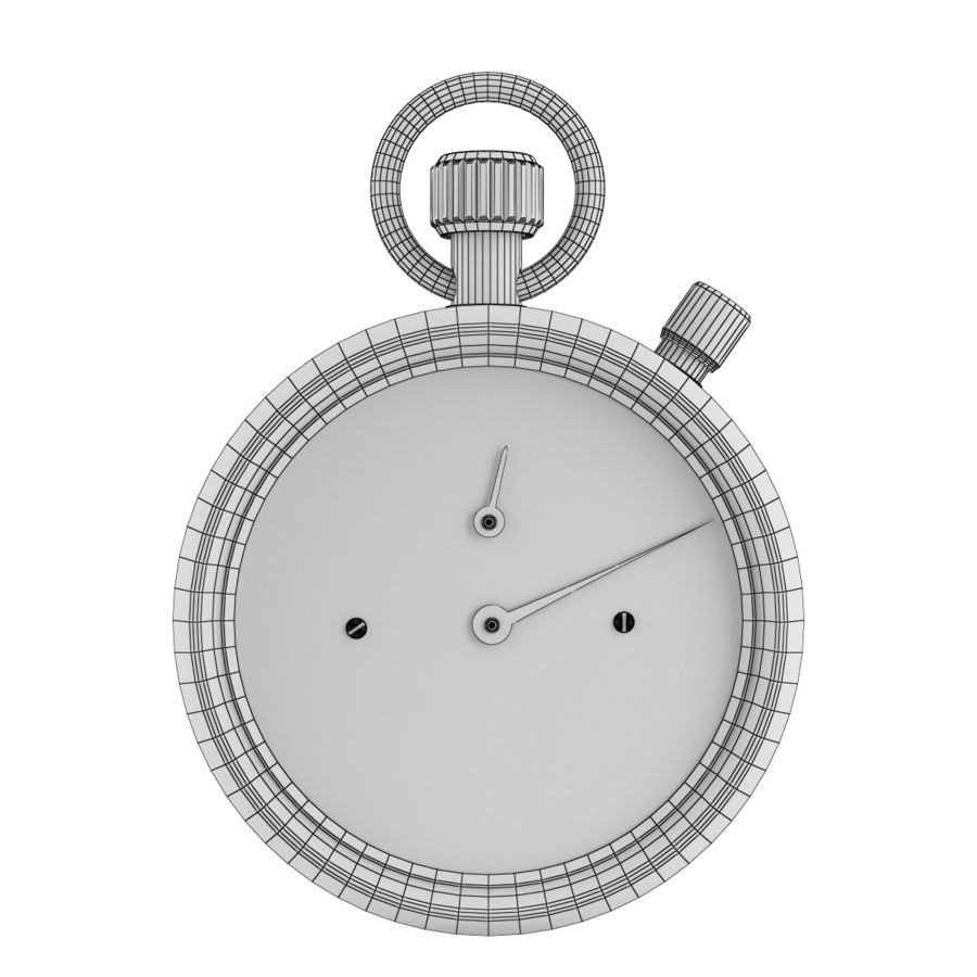 Cronômetro royalty-free 3d model - Preview no. 2