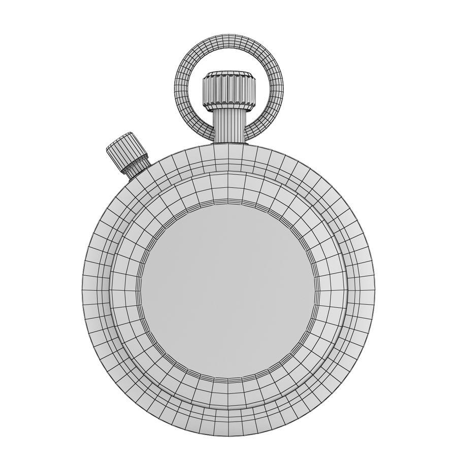 Cronômetro royalty-free 3d model - Preview no. 5