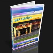 Gaz istasyonu 3d model