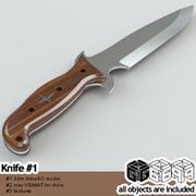 G69 Knife #1 3d model