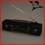 Radio Philips 3d model