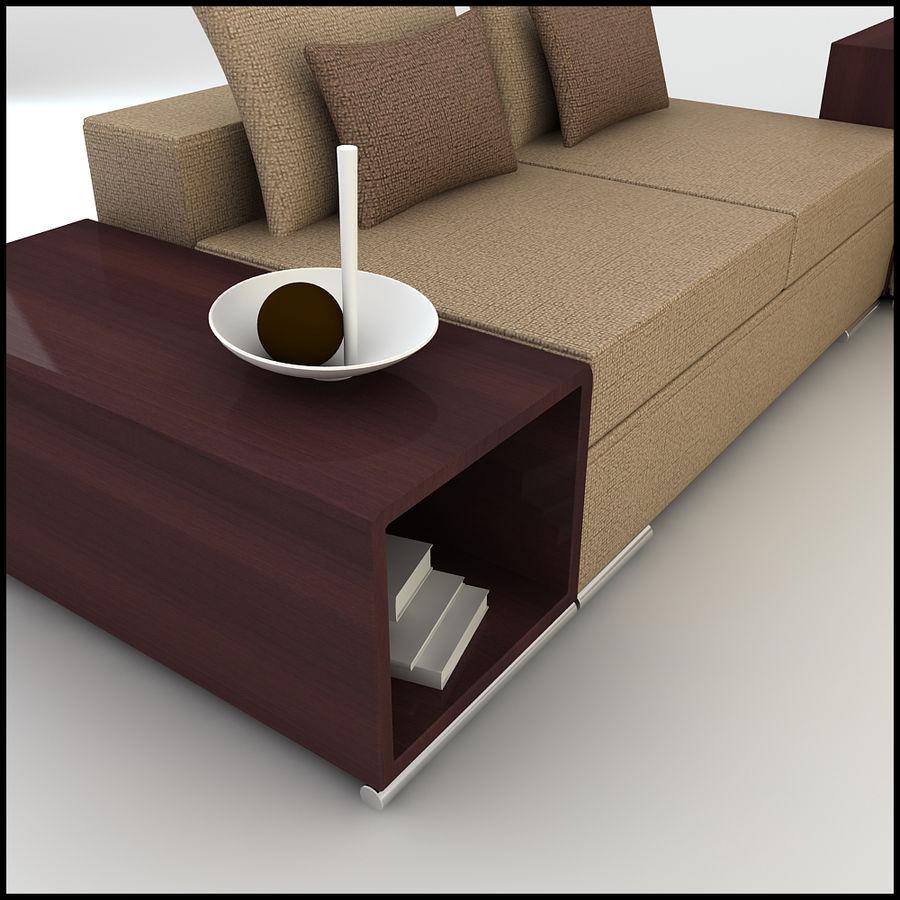 Corner Sofa Design CSD 02 3D Model $24 - .unknown .obj .max ...
