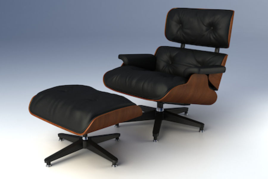 Eames Lounge Collection 3d Model 25 Unknown Max Lxo