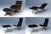 Eames Lounge Collection 3d model