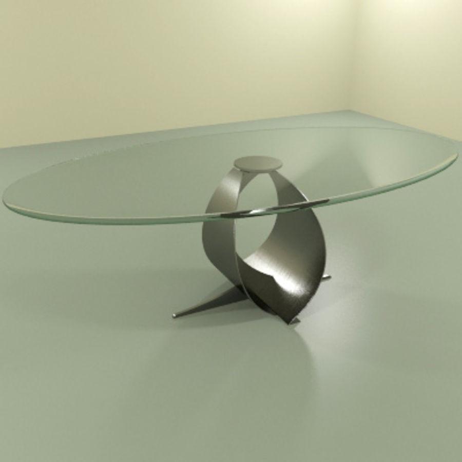 现代咖啡桌 royalty-free 3d model - Preview no. 4