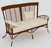 Sofa 2 seat 3d model