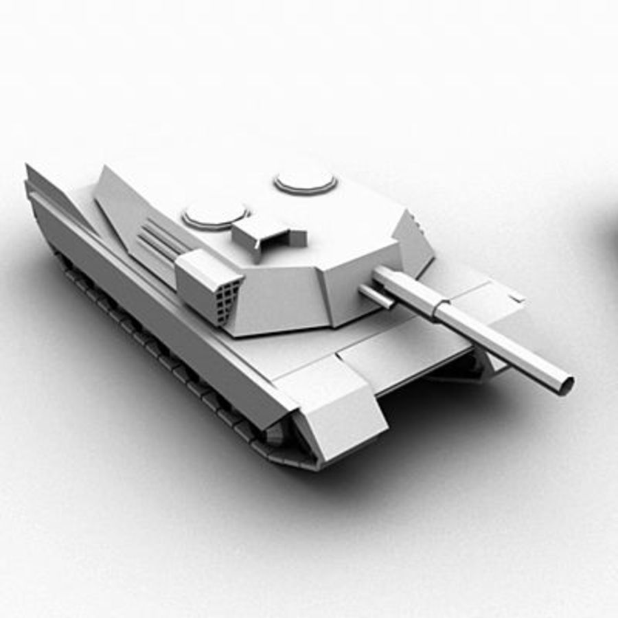 Tank Object Pack royalty-free 3d model - Preview no. 2