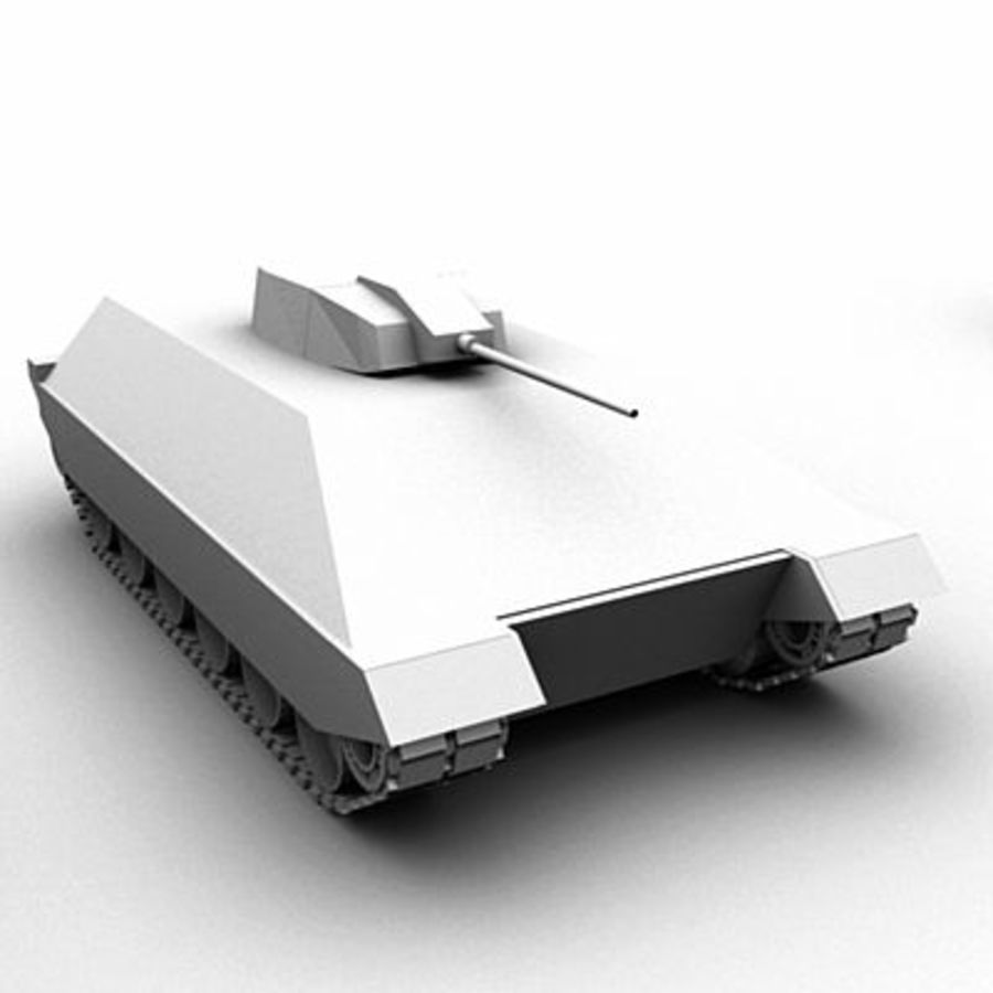 Tank Object Pack royalty-free 3d model - Preview no. 3