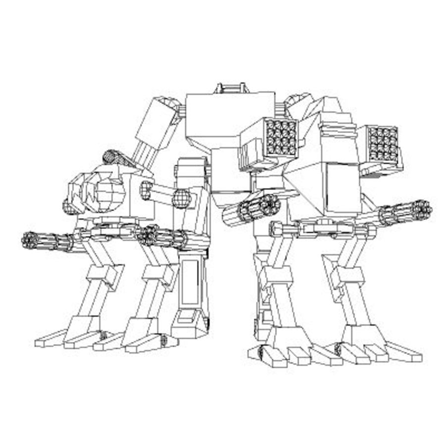 Mecha Object Pack royalty-free 3d model - Preview no. 5