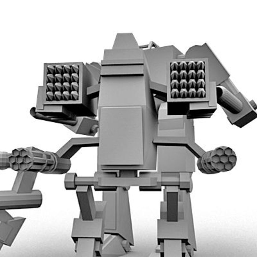 Mecha Object Pack royalty-free 3d model - Preview no. 3