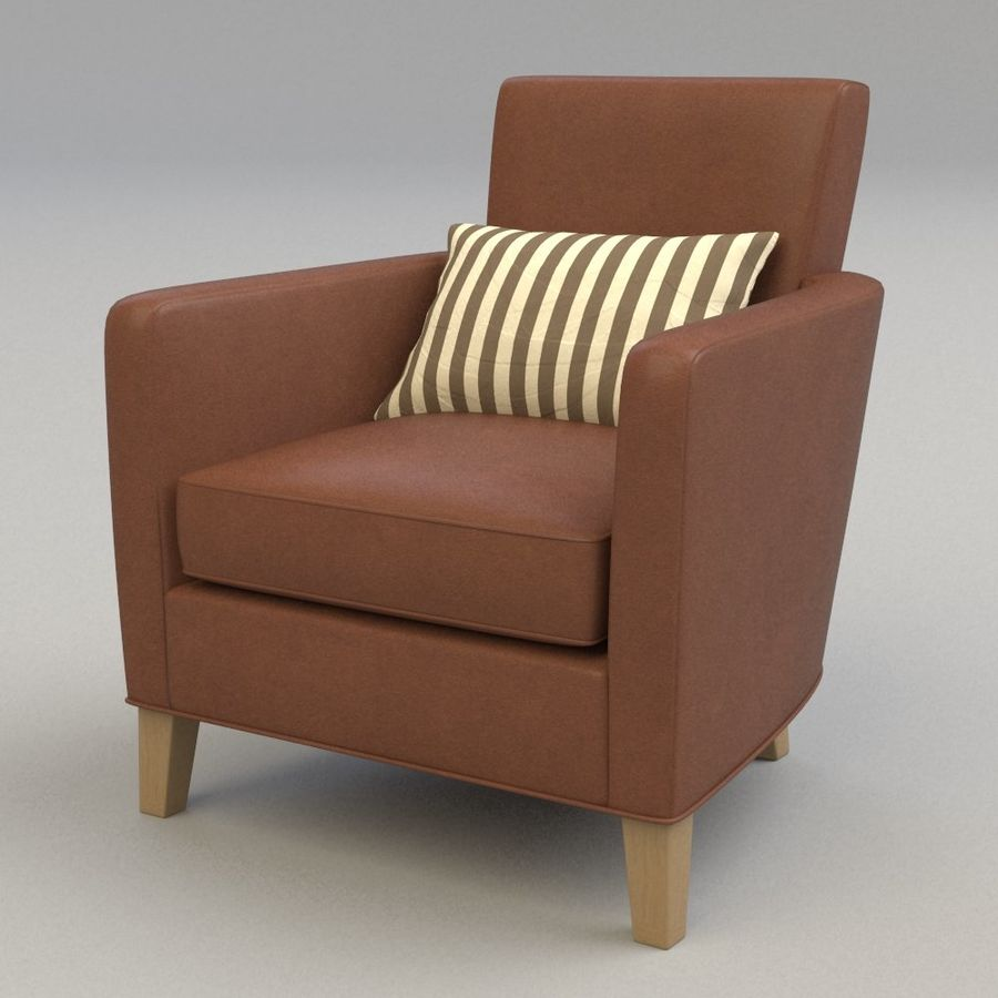 Club Chair royalty-free 3d model - Preview no. 1